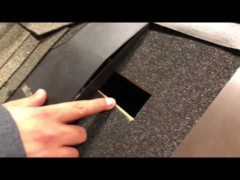 Shingle Over Intake Vent