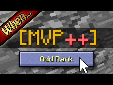 When Hypixel Adds A New Rank...