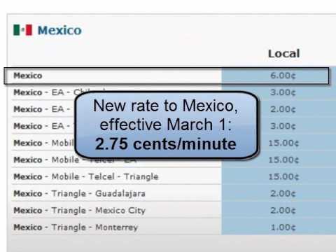 $10 free Mexico phone card bonus
