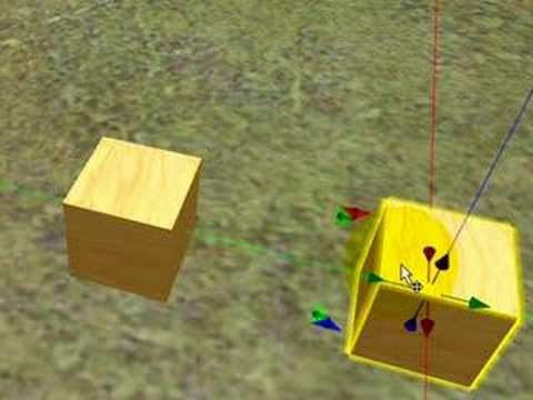 Shift-drag to copy objects - Second Life Video TuTORial QUIC