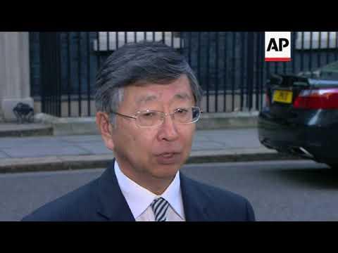 Japan's UK ambassador makes stark Brexit warning