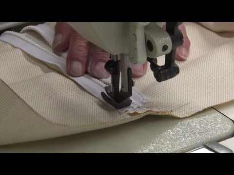 Zipper Closure on Throw Pillows - How to Make Throw Pillows