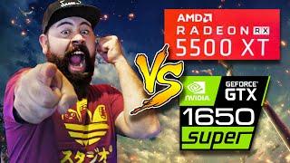 RX 5500XT vs GTX 1650 Super - Cuál DEBES comprar y cual NO DA el ANCHO, FullHD 1080p - Droga Digital
