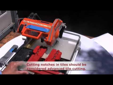 TileSizer™ Notch Cuts