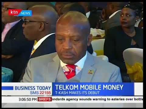 Business Today - 12th March 2018 - Telkom Kenya launches mobile money transaction service (T-Cash)