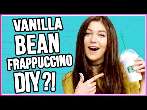 DIY Starbucks Vanilla Bean Frappuccino?! | Craft The Craze w/ Jessie Paege