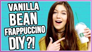 DIY Starbucks Vanilla Bean Frappuccino?! | Craft The Craze w/ Jessie Paege