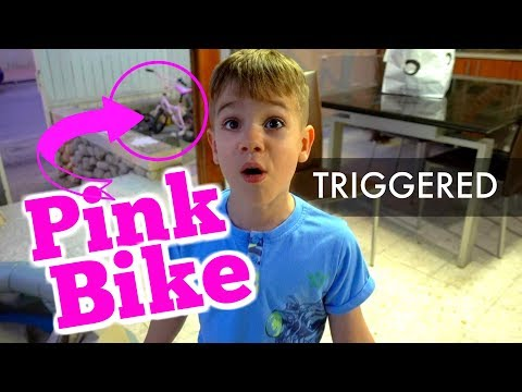 PINK Bike For a BOY
