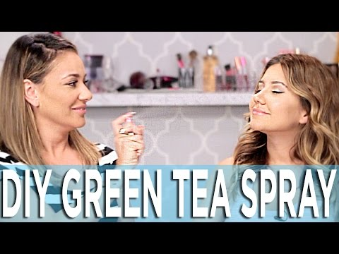 How To Make Green Tea Spray - Your Skin's New Best Friend