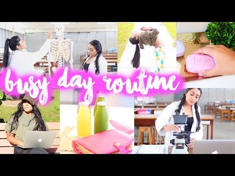 BUSY DAY ROUTINE : a busy day in our life | Paris & Roxy