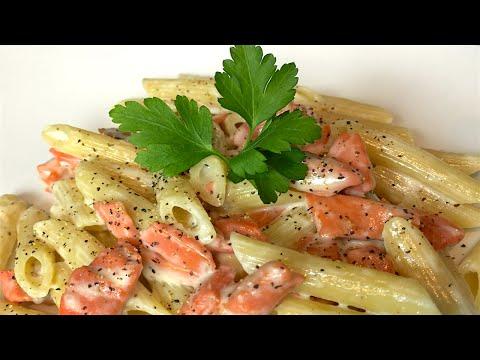 Smoked salmon pasta - Cooking Simple Recipes
