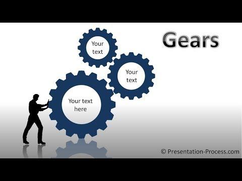 PowerPoint Gear : PowerPoint Diagram Tutorial Series