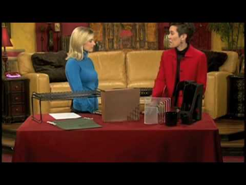 Get Organized: How to Organize Your Desk - Great Day SA 01-08-09