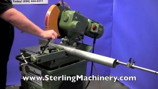 """14"""" Used Doringer Cold Saw (For Cutting Steel, Stainless, Aluminum, Brass, Copper, Plastics), ..."""