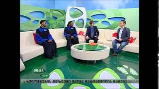 TV Appearance on Georgian Public Broadcaster [EUROPE]