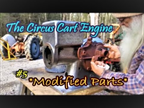 The Circus Cart Engine modified parts #5