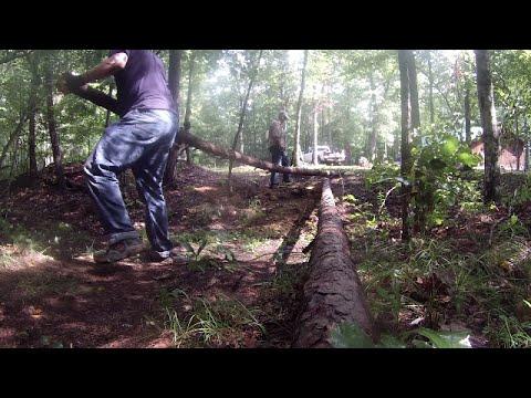 Making a Campsite Series, Building the Bridge part 1