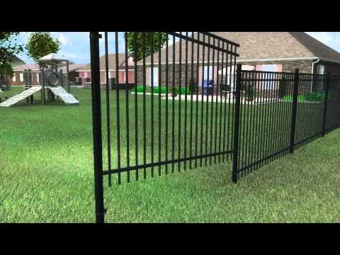 Montage Fence Installation by Ameristar Fence Products