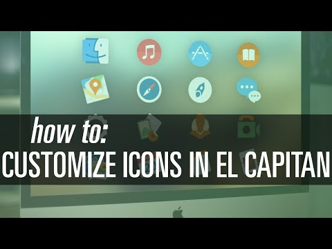 How To Customize Icons in OS X El Capitan (10.11)