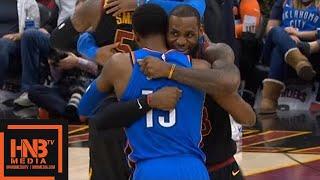Cleveland Cavaliers vs Oklahoma City Thunder 1st Qtr Highlights / Jan 20 / 2017-18 NBA Season