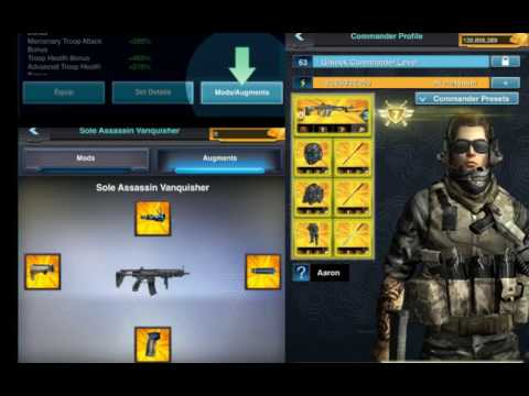 Mobile Strike HOW TO INSTALL THE NEW WEAPON AUGMENTS!