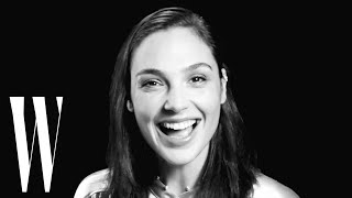 Gal Gadot on Wonder Woman Costumes and Her Eye-Opening Pregnancy   Screen Tests   W Magazine