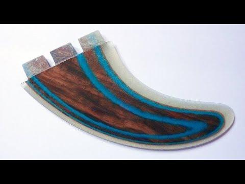 wood paper core fins