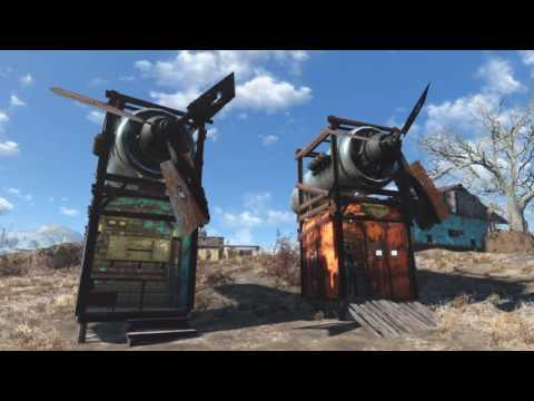 Fallout 4 Tutorial: Workshop Windmills