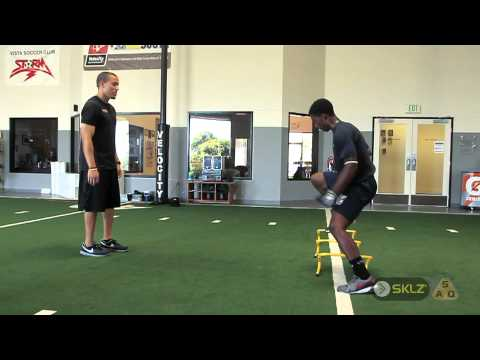 QUICKNESS TRAINING: Lateral 2-3-2-3 Drill