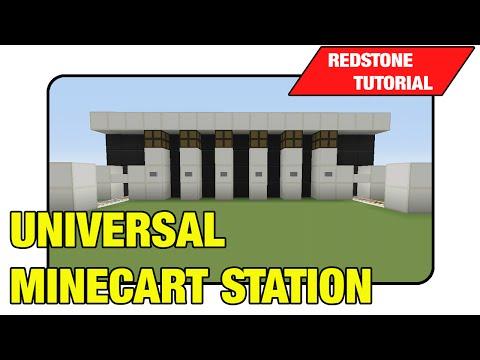 Universal Minecart Station