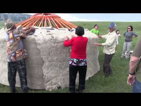 Building a Mongolian Ger