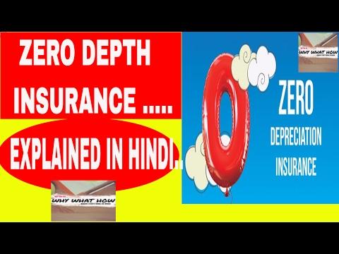 |Zero depth insurance| |Zero depreciation insurance| |Zero dept insurance| explained in hindi