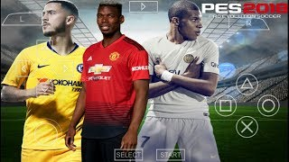 PES 2019 CAMERA PS4 PPSSPP ANDROID DOWNLOAD CRISTIANO