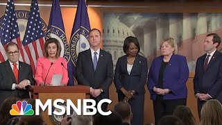 Nancy Pelosi Chooses Diverse, 'Talented' Team Of Litigators To Prosecute Trump   MSNBC