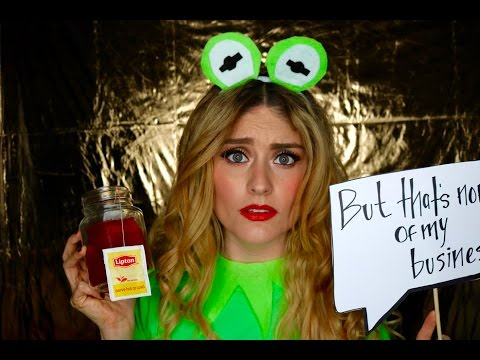DIY   'But that's none of my business.... ' Kermit Costume