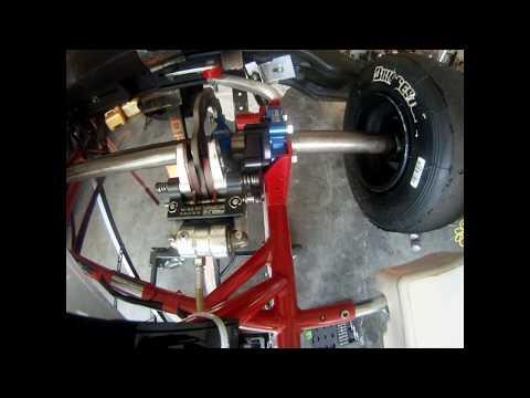 Birel Art Rotax 60cc - Change brake pads