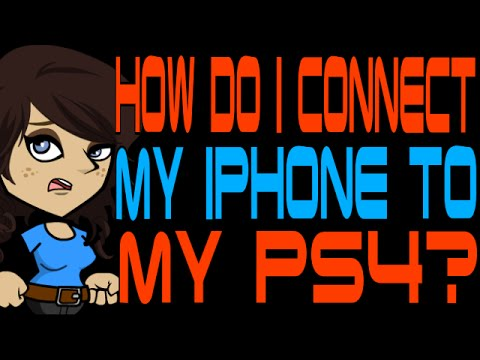 How Do I Connect My iPhone to My PS4?