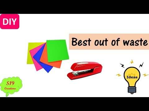 Paper crafts | Best out of waste | Useful diy projects | creative ideas | diy arts and crafts