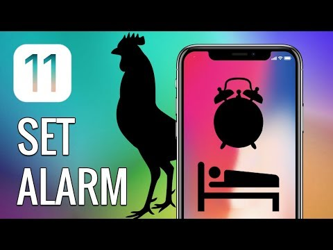 How to Set Alarm on iPhone and iPad in iOS 11