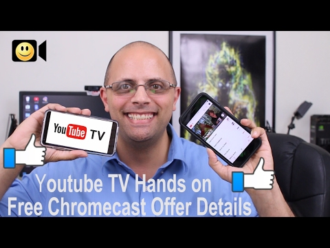 Youtube TV Hands on (IOS and Android) + Free Chromecast Offer Details!?!?
