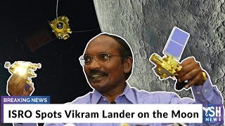 ISRO Spots Vikram Lander on the Moon