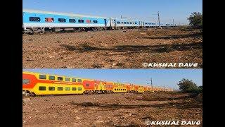 [2 In1] Train From Mumbai To Ahmedabad-karnavati Express & Ac Double Decker Express