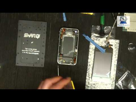 iPhone 3Gs  Screen, Digitizer and battery replacement