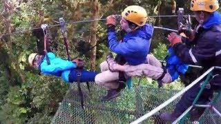 Monteverde Costa Rica - Canopy Tour - Cloud Forest - Zip Line - Gopro Hero4