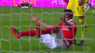 Polémica: Há grande penalidade sobre Raúl Jiménez? (Benfica - Tondela)