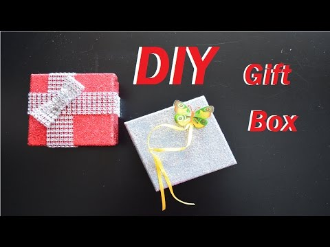 DIY Gift Box | How to make your own present boxes