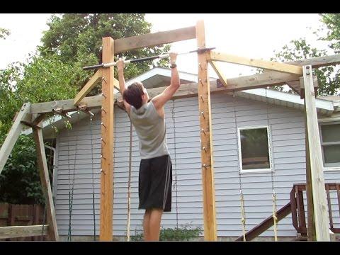 Build a Salmon Ladder / American Ninja Warrior training / Arrow