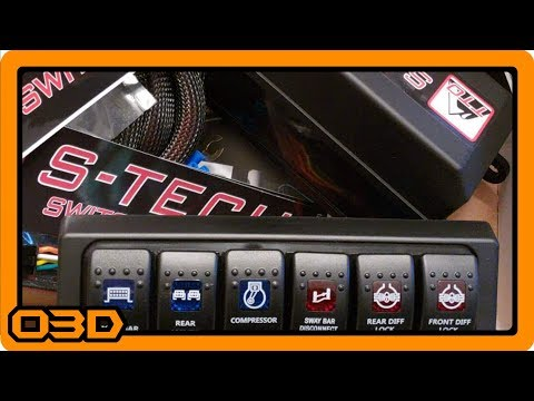 S-TECH Switch System Custom Builder and Overview for Jeep Wrangler JK
