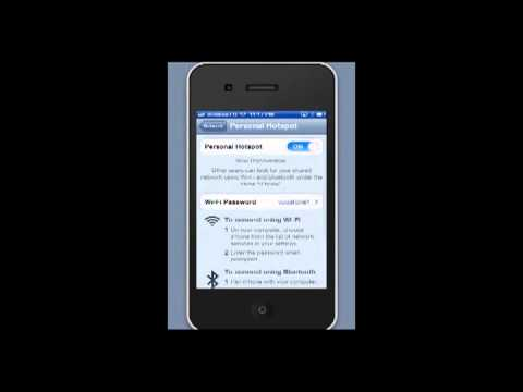 How to setup iPhone Personal hotspot
