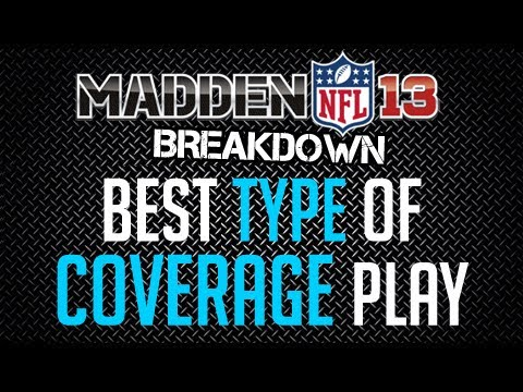 Madden 13 : Defense Tips : Best Type of Coverage Defense